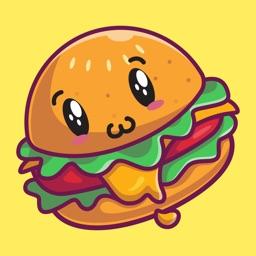 Junk Food Stickers!