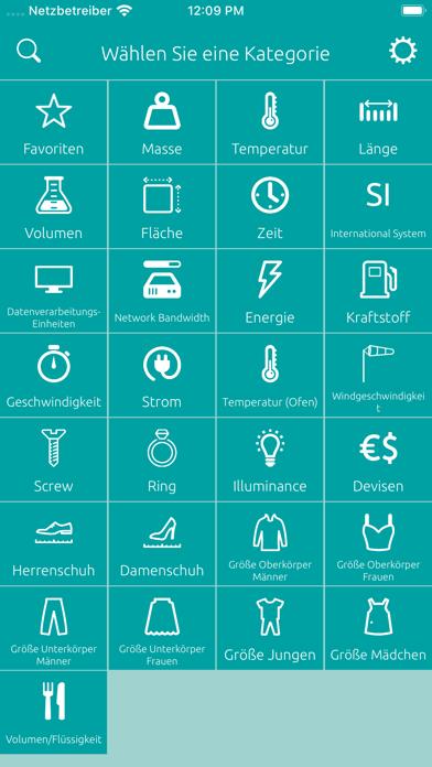 Einheitenrechner - UmrechnerScreenshot von 6