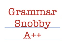 With Grammar Snobby, you will get all the red corrections you need to fix typos or grammar mistakes