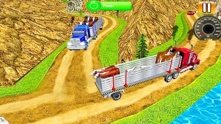 Zoo Animal Transport Truck screenshot-5