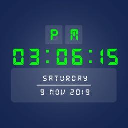 Big Digital Clock Display