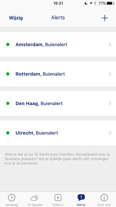 Buienradar - weer Screenshot