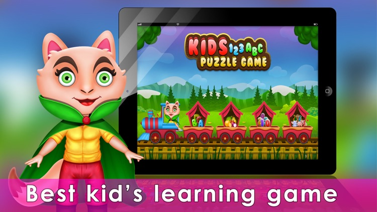 Kids 123 ABC Puzzle Game screenshot-0
