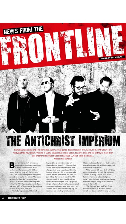 Terrorizer Magazine screenshot-2