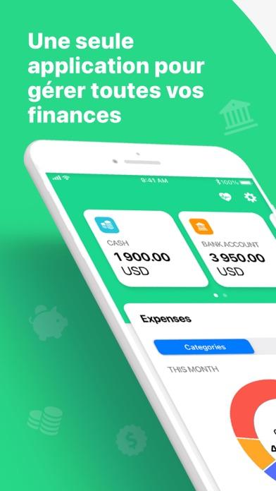 Screenshot #1 pour Wallet - Finances, argent