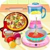 美味的披萨,烹饪比赛,游戏