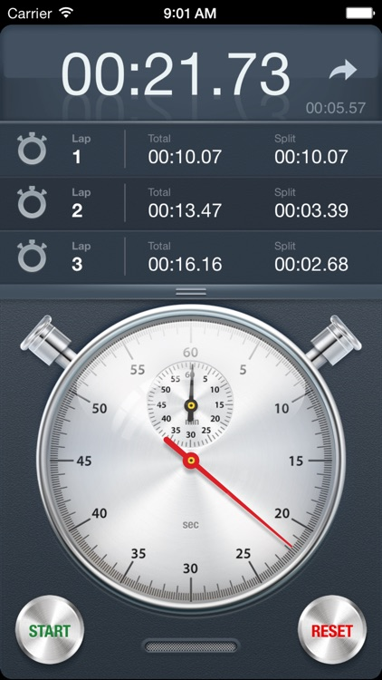 Stopwatch+ for Track & Field screenshot-1