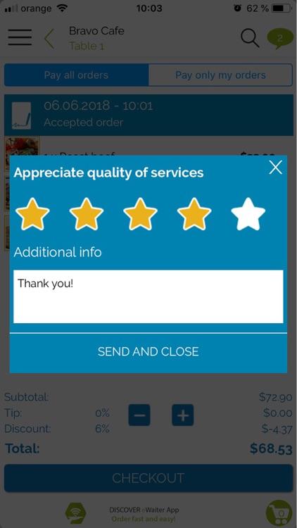 eWaiter App screenshot-6