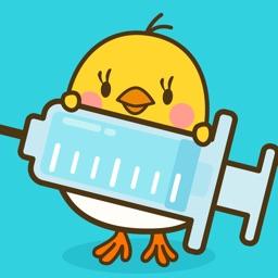 ぴよログ予防接種