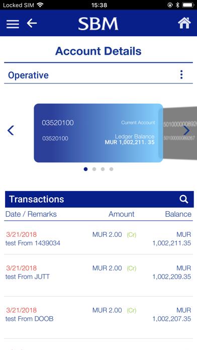SBM Mobile Banking screenshot three