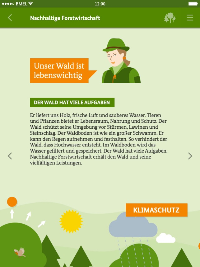 ‎Die Waldfibel Screenshot