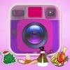 贴纸美化全能相机 - 用P图软件秀秀你的美图和搞笑图