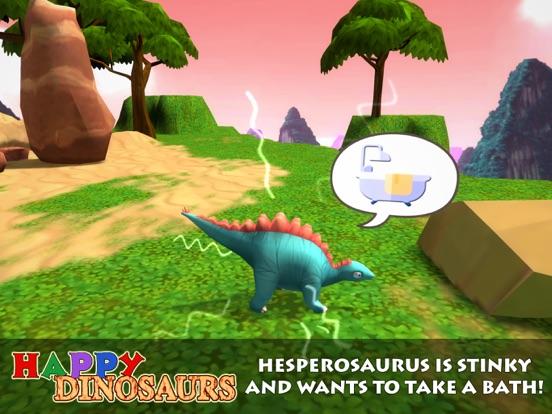 Screenshot 3 Happy Dinosaurs: Jurassic Zoo