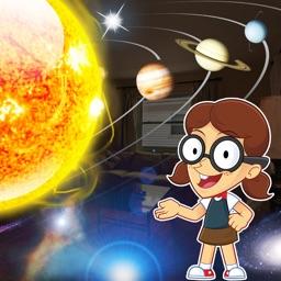Solar System Builder 4 Kids AR