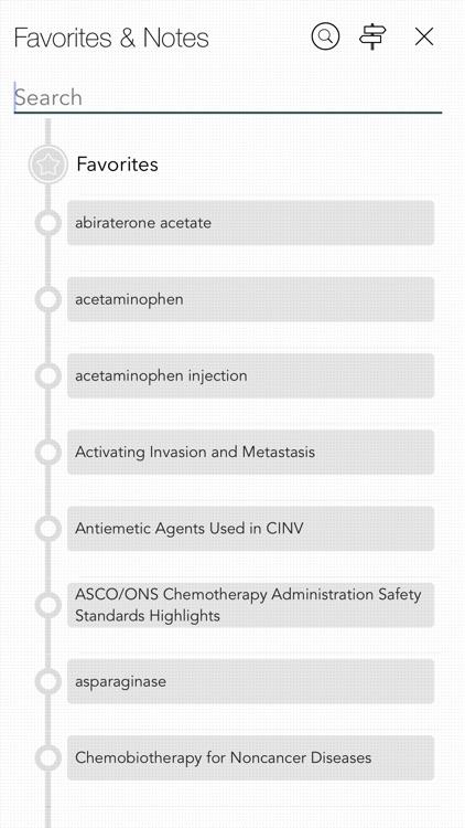 Oncology Nursing Drug Handbook screenshot-6
