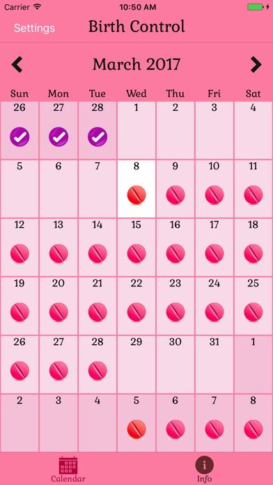 Screenshot for Pillen Erinnerung, Pille Alarm in Germany App Store