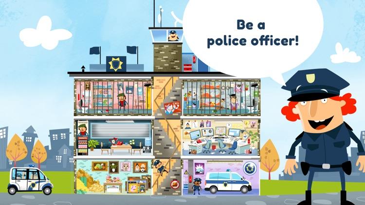 Little Police Station for Kids screenshot-0
