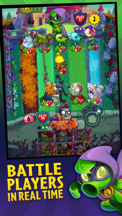 games like pvz heroes
