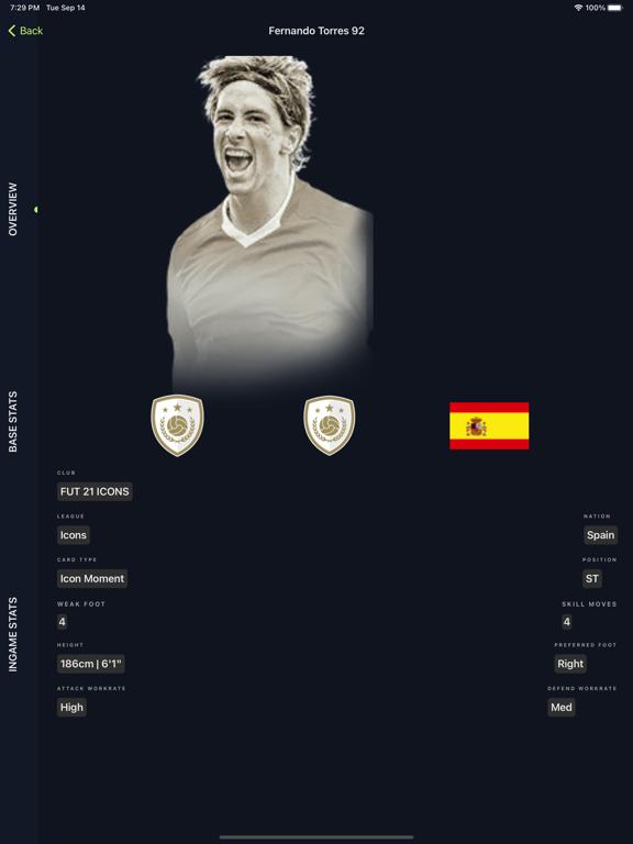 FUTFinder - FUT 22 Players iPad app afbeelding 2