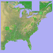 Scenic Map Eastern USA