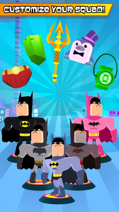 Screenshot of Teen Titans Go! Figure App