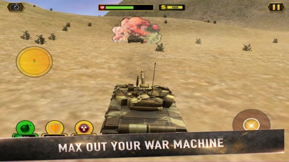 Real Battle Blitz: Tank 3D War screenshot 2
