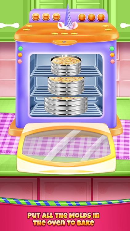 Birthday Cake - Unicorn Food screenshot-4