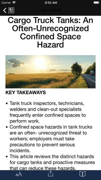 ASSP Professional Safety screenshot three