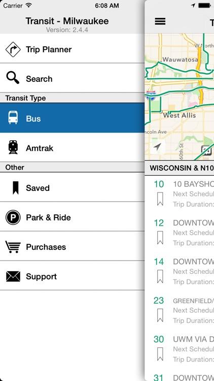 Transit Tracker - Milwaukee