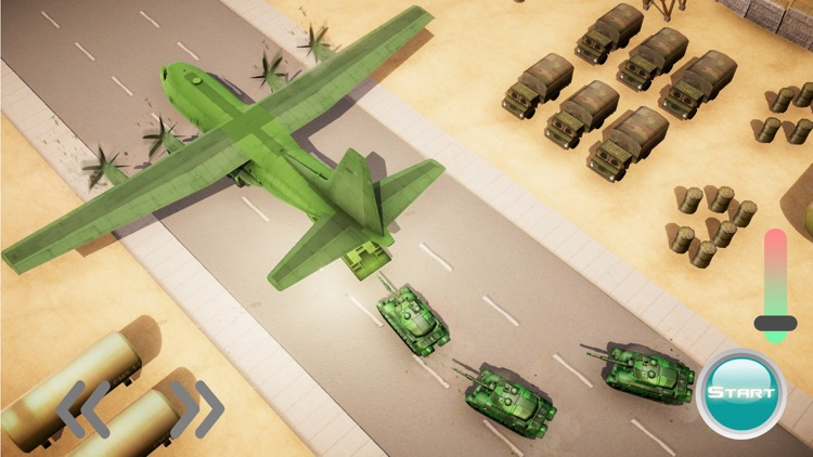 US Army Truck driving & Plane