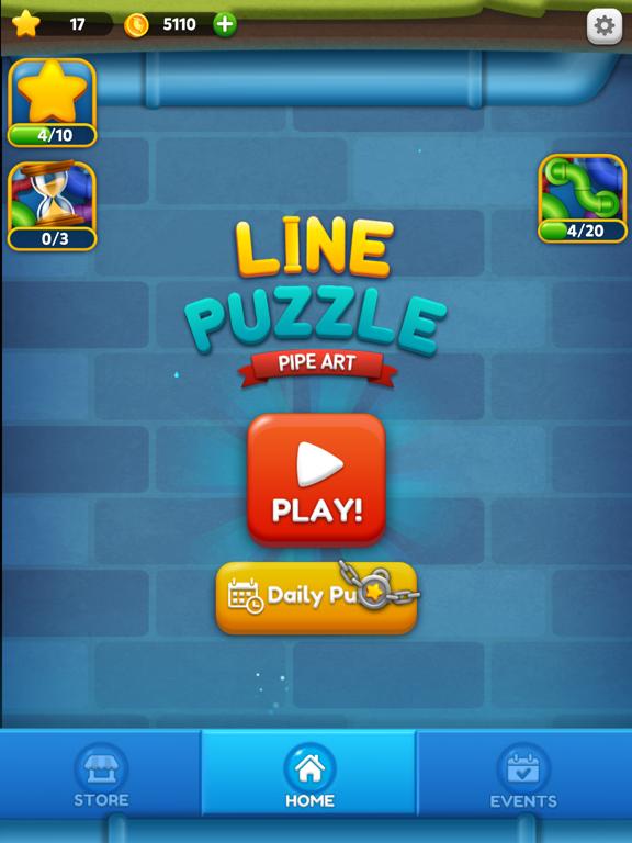 Line Puzzle: Pipe Artのおすすめ画像9
