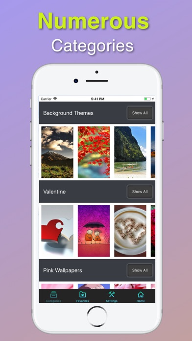 HD & Retina Wallpapers Скриншоты5