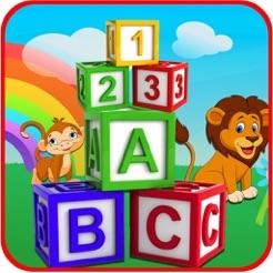 ABC & Number Kids Nursery Book