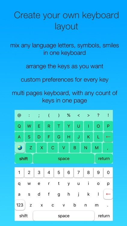 Personal Keyboard
