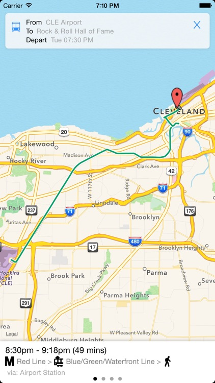 Transit Tracker - Cleveland screenshot-3