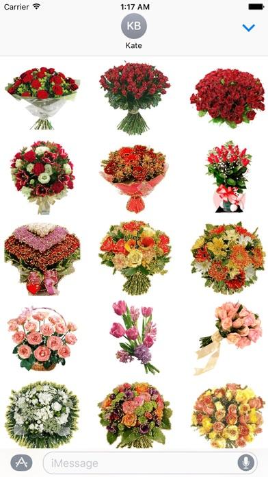 Animated Fresh Flower Bouquets screenshot 1