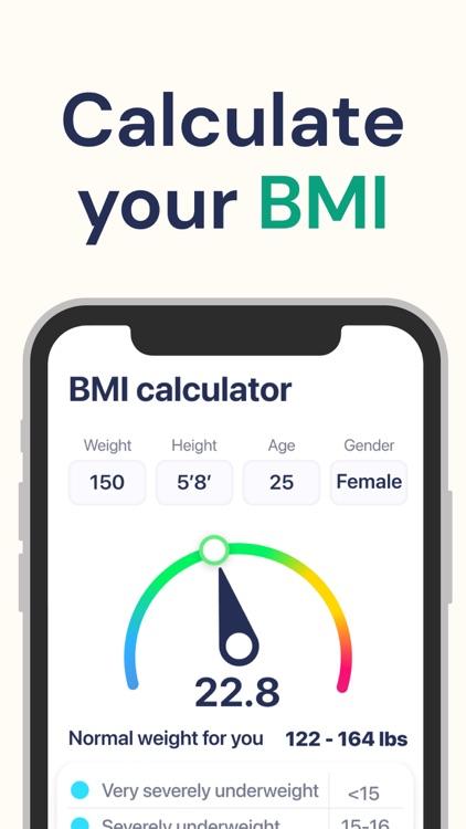 BMI Calculator Weight Tracker screenshot-7