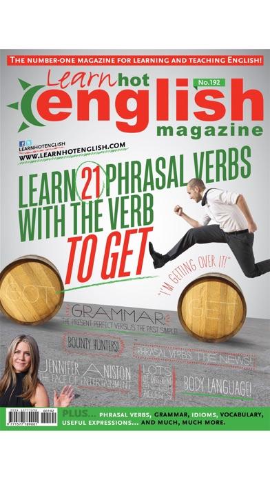 Learn Hot English Magazine Screenshot