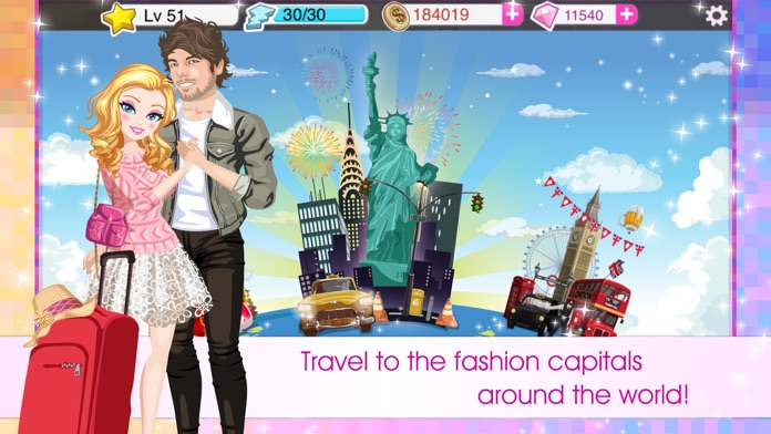 Star Girl - Fashion Celebrity Screenshot