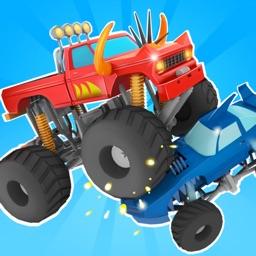 Monster Truck race battle