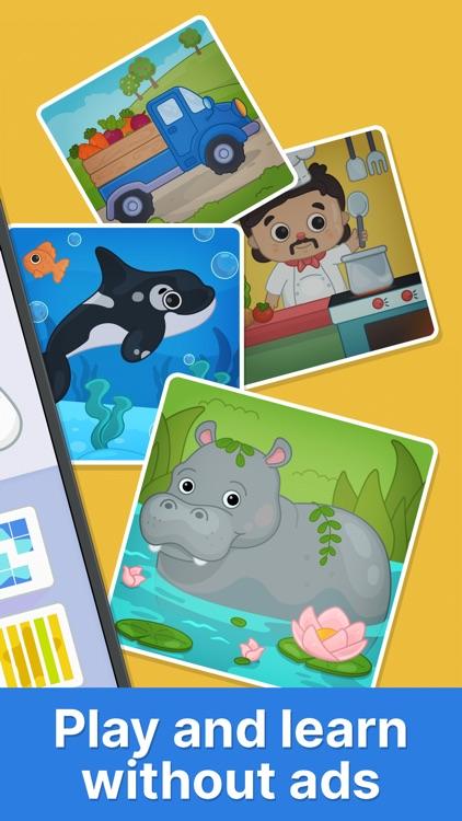 Bimi Boo puzzle games for kids screenshot-6