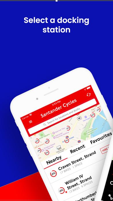 Screenshot #1 pour Santander Cycles