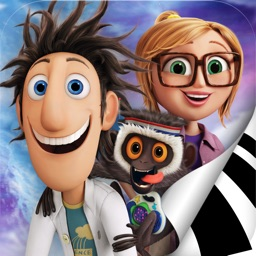 Cloudy with a Chance of Meatballs Movie Storybook & Cloudy 2 Children's Activity Book