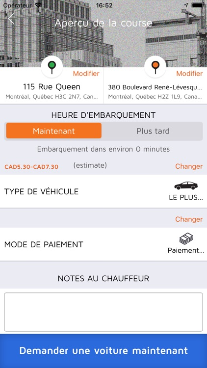 Taxi Diamond: Montreal's Taxi screenshot-4