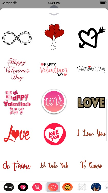 Awesome Love Stickers screenshot-3