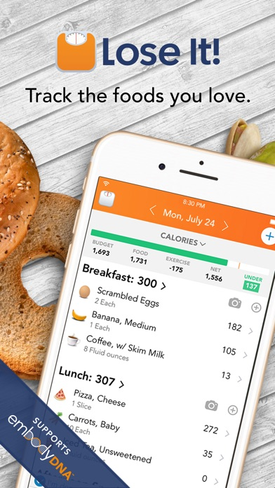 Lose It! – Calorie Counter screenshot one