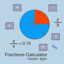 Fraction Calculator with Work