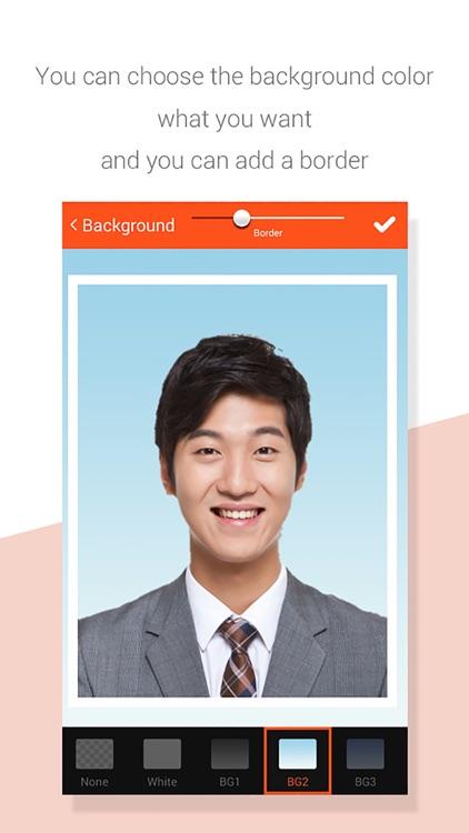 EZ Passport photo - ID photo screenshot-4