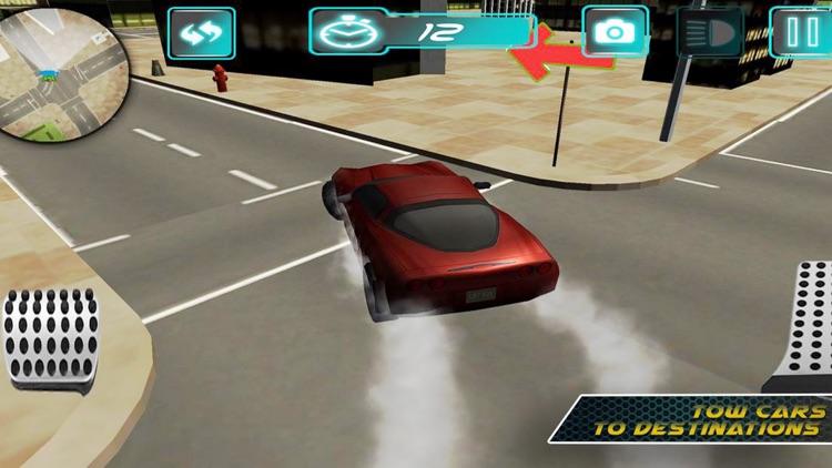 Red Car City Tran Sim