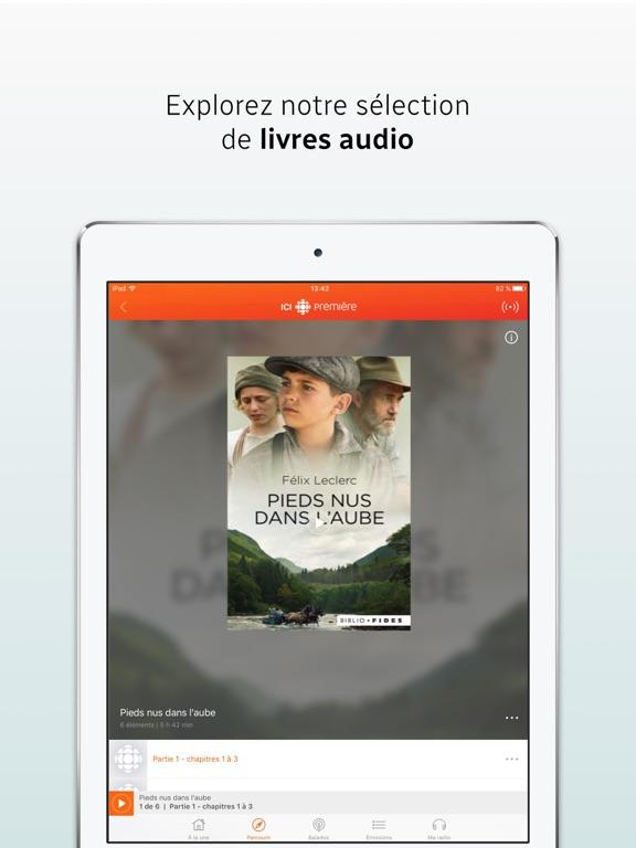ICI Radio-Canada Première Скриншоты8